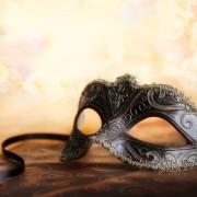 Award und Gala Dinners Veranstaltung Corde Concepts Schwarze Maske