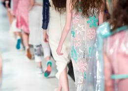 Produkteinführungen Veranstaltung Corde Concepts Laufsteg Models Kleider