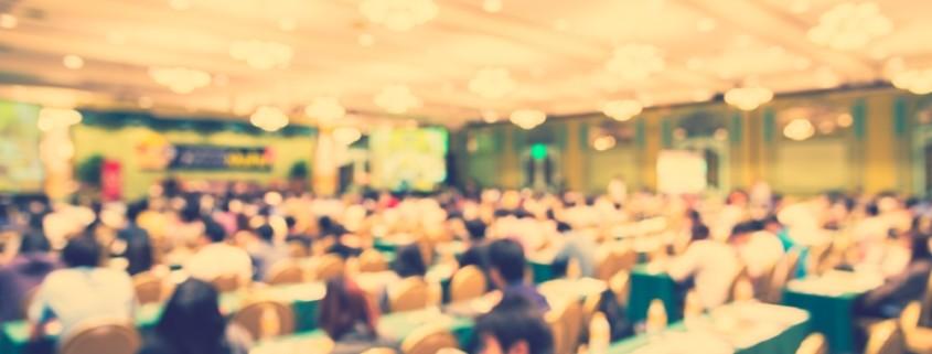 Konferenzen Veranstaltungen Corde Concepts Event Sicht von Hinten